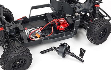 Metal-geared differentials