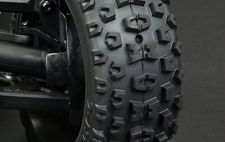 Sealed Wheels & Vented Tyres