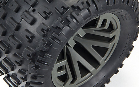 dBoots Fortress MT tyres