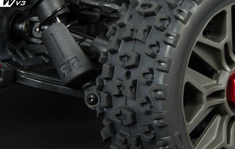 Verzegelde wielen en geventileerde banden