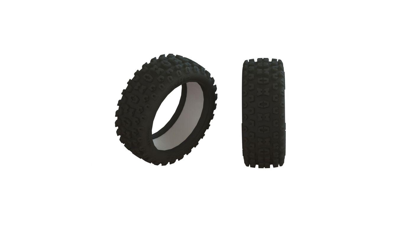 Image for 2HO Tire & Inserts (2) from HorizonHobby