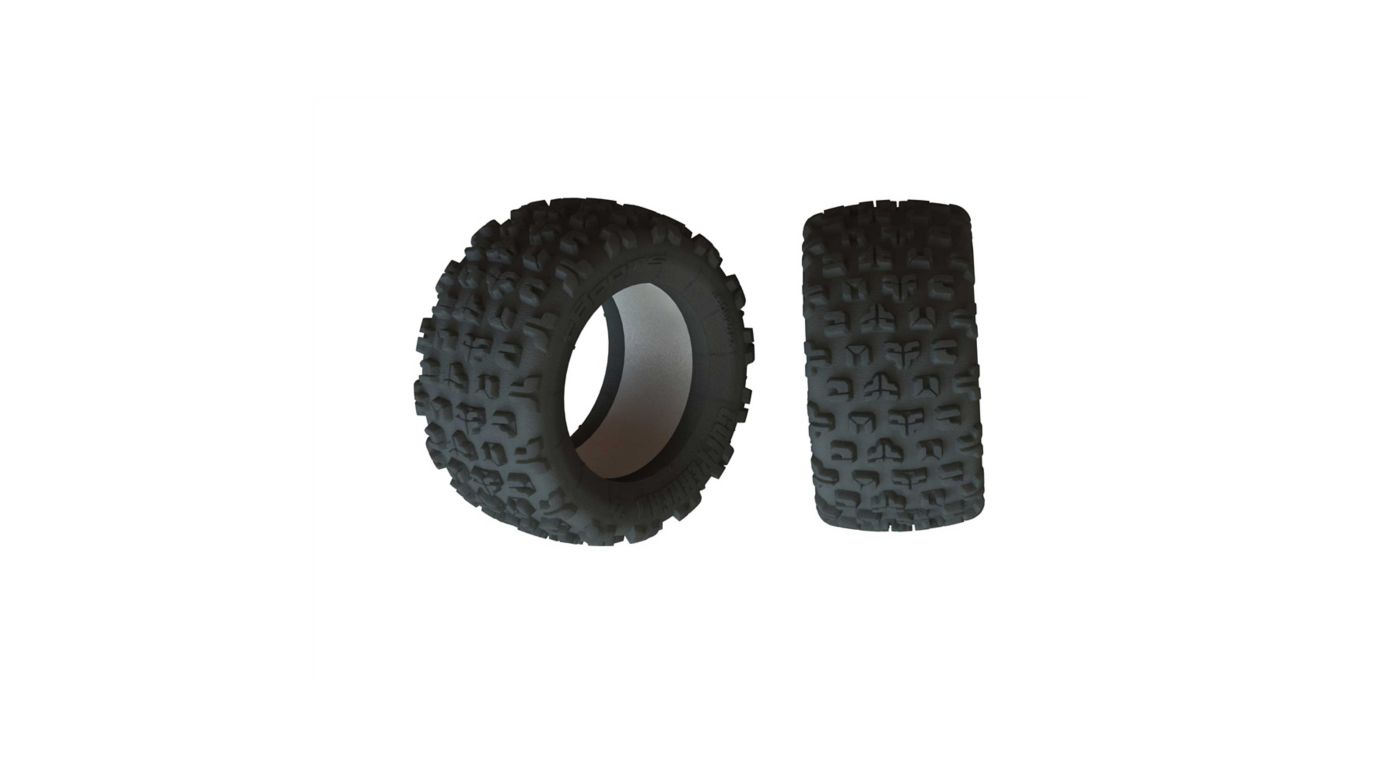 Image for 1/5 dBoots Copperhead2 SB MT Front/Rear 2.8 Tire & Inserts (2) from HorizonHobby