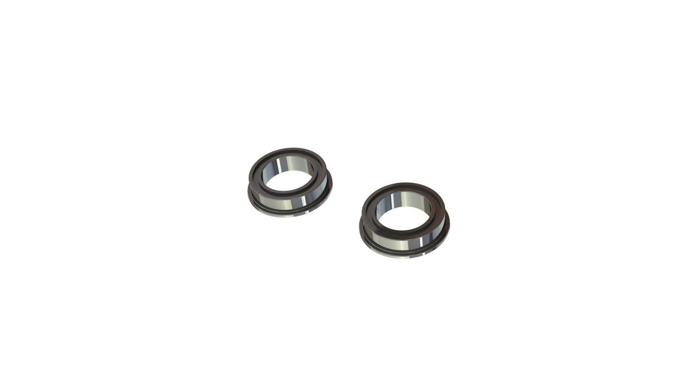 Image for Flange Ball Bearing, 10x15x4mm (2) from HorizonHobby