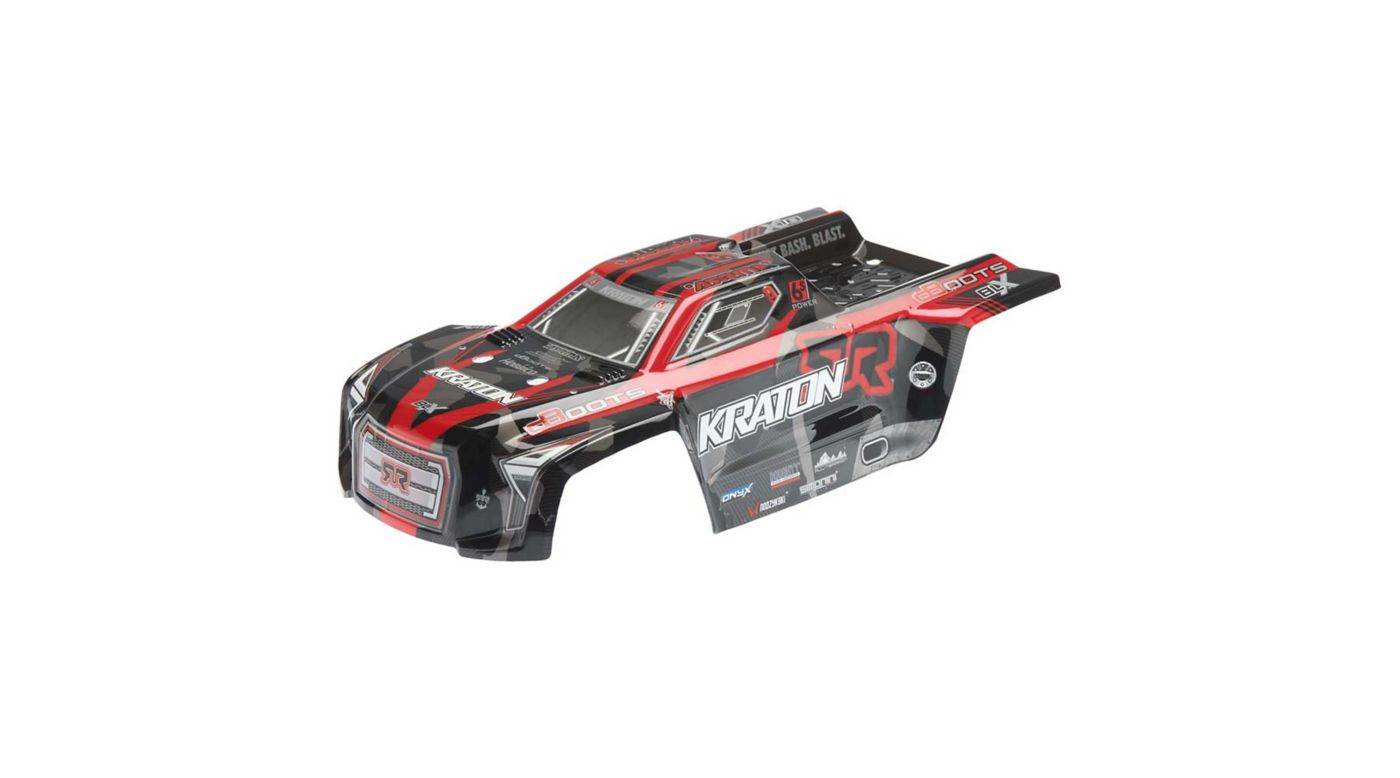 Grafik für AR406078 Body Kraton 6S Red Black II in Horizon Hobby