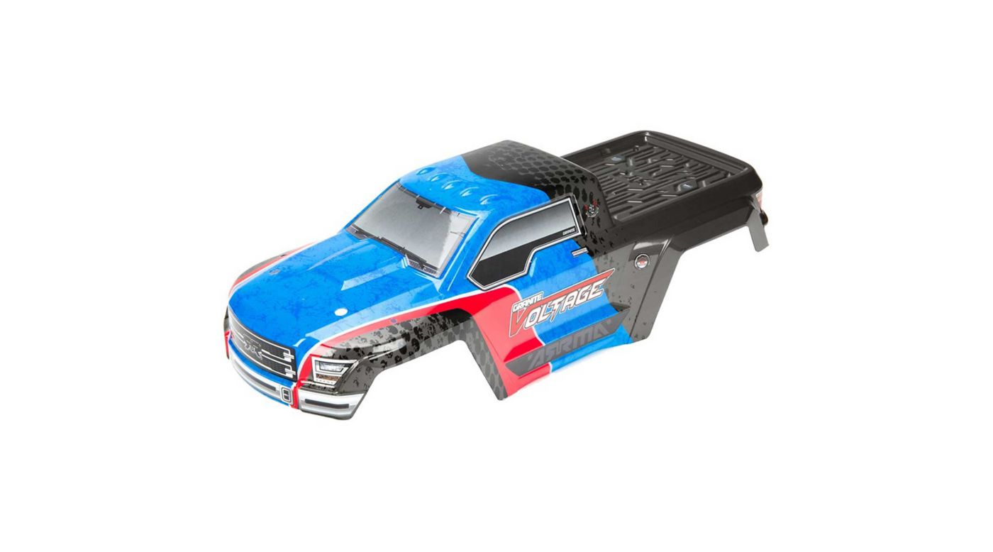 Image for Painted Body with Decals, Blue/Black: Granite Voltage from HorizonHobby