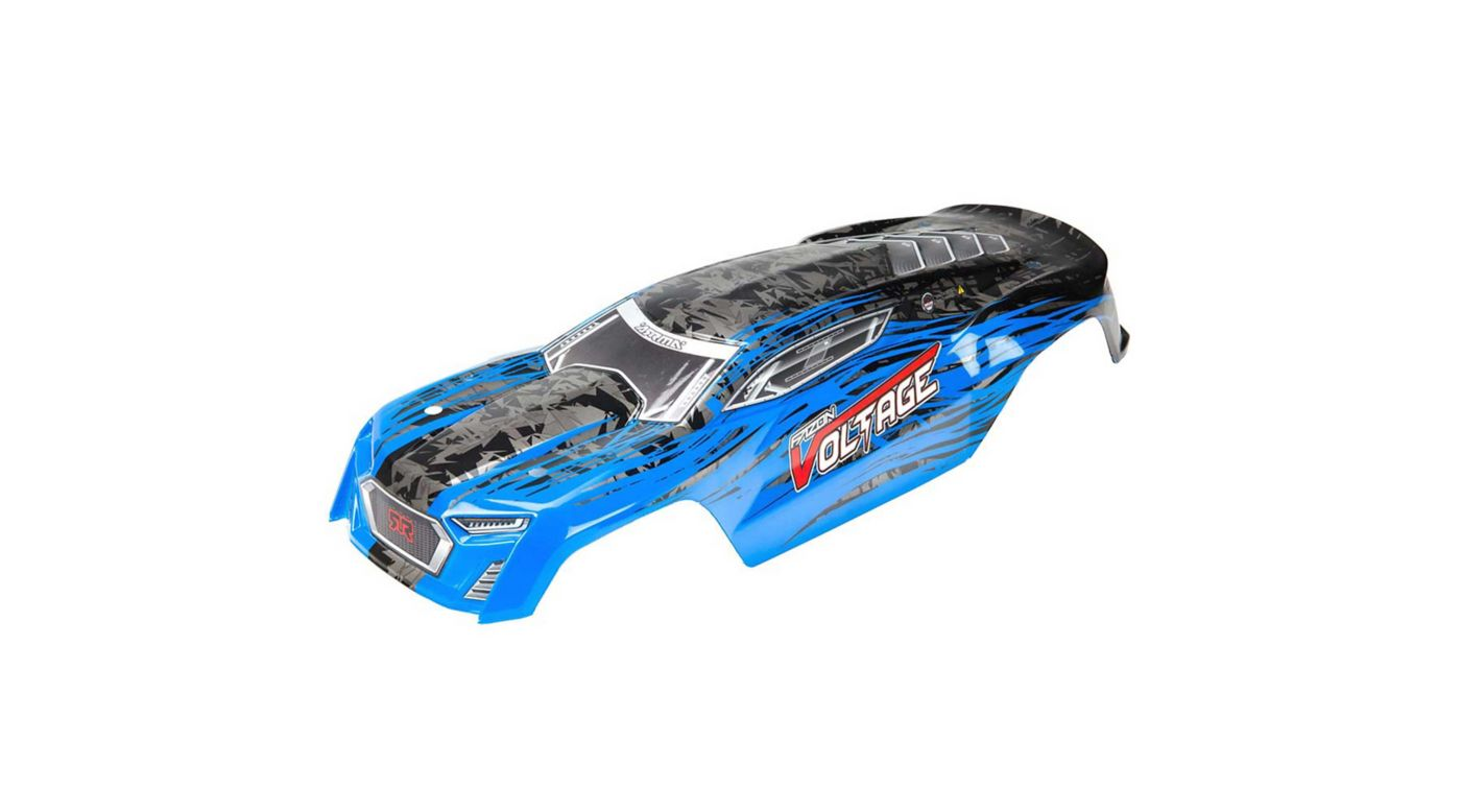 Image for Painted Body with Decals, Blue/Black: Fazon Voltage from HorizonHobby