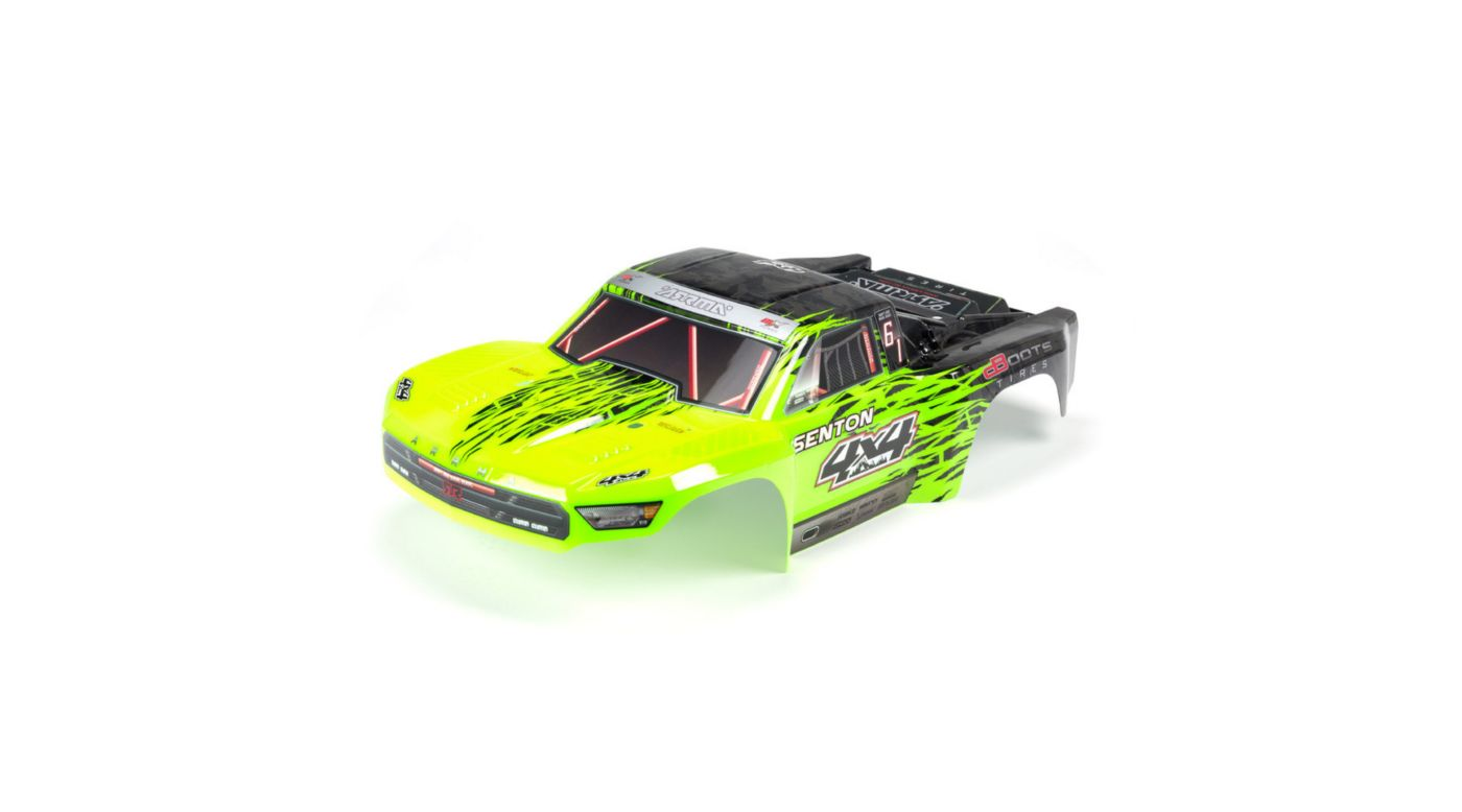 Image for Painted Body with Decal Trim, Green: Senton 4x4 BLX from HorizonHobby