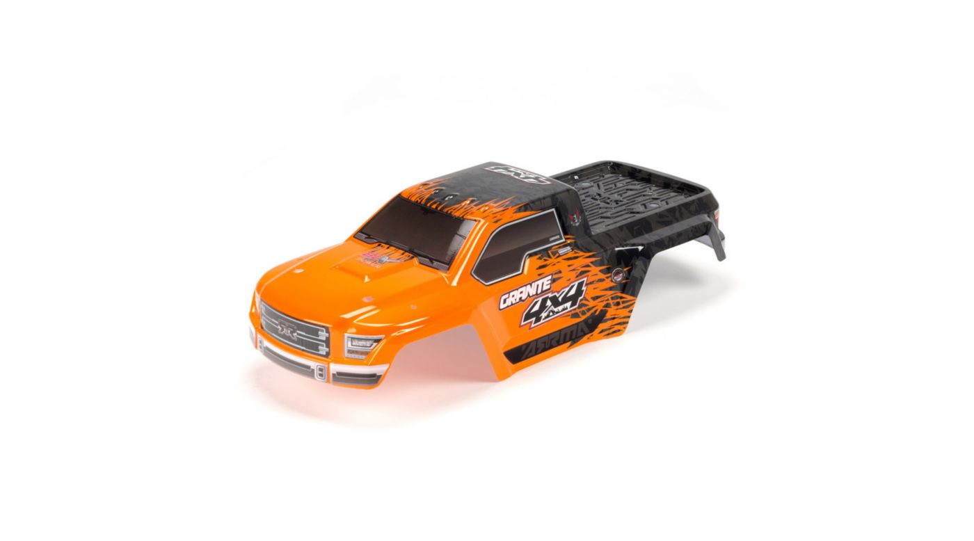 Image for Painted Body with Decal Trim, Orange: Granite 4x4 BLX from HorizonHobby