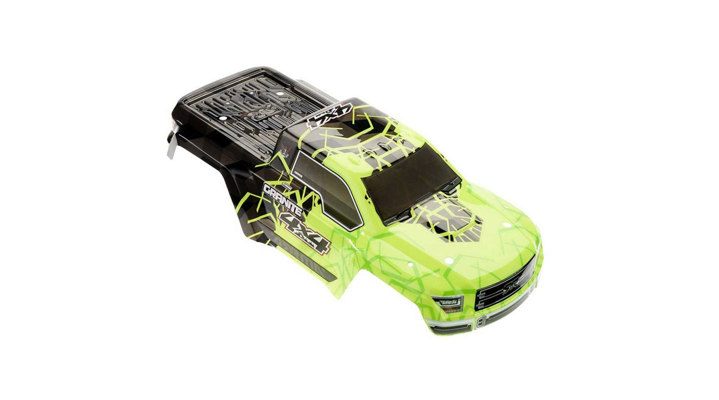 Grafik für AR402253 Body Painted/Decal Green Granite 4x4 Mega in Horizon Hobby