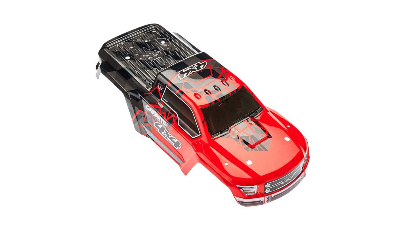 Image for Painted Body with Decal Trim, Red: Granite 4x4 Mega from HorizonHobby