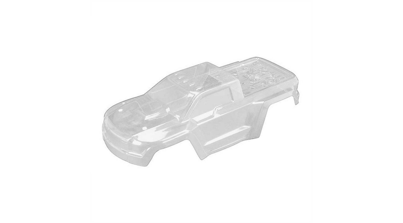 Image for Body with Decals, Clear: Granite 4x4 from HorizonHobby