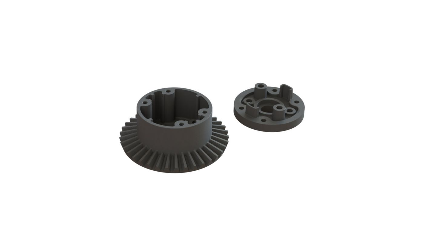 Image for Differential Case Set 37T Main Gear: BLX 3S from HorizonHobby