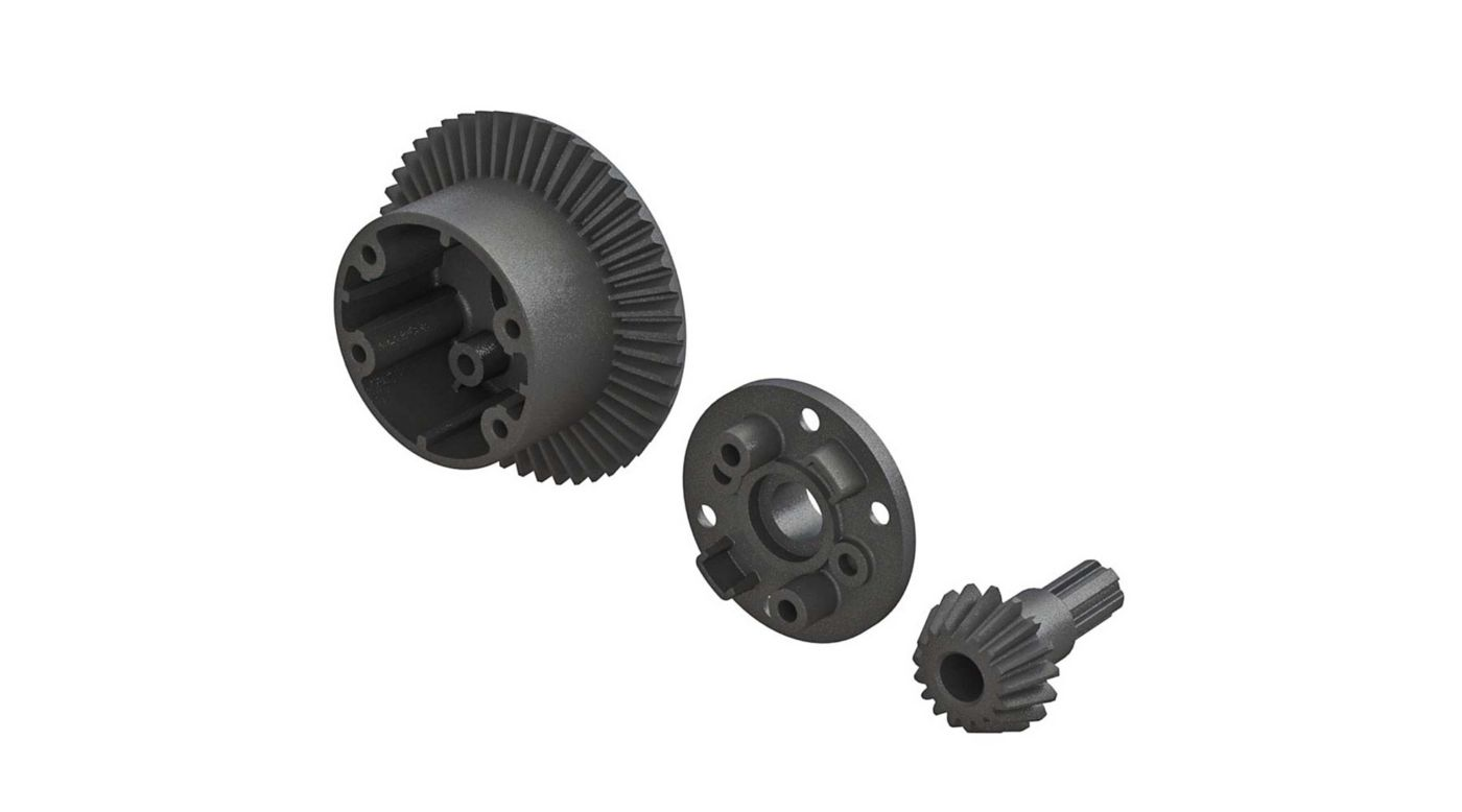 Image for Diff Case 49T Main Gear 17T Input Gear Set from HorizonHobby