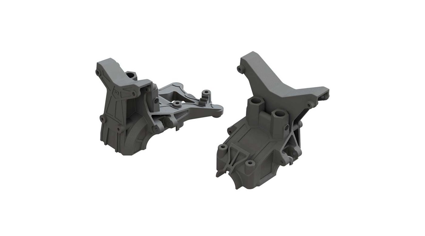 Image for Composite Front Rear Upper Gearbox Covers and Shock Tower from HorizonHobby