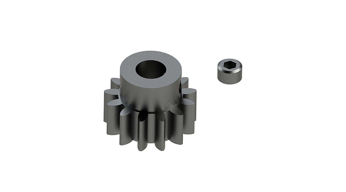 Image for Steel Pinion Gear 13T Mod1 5mm from Horizon Hobby