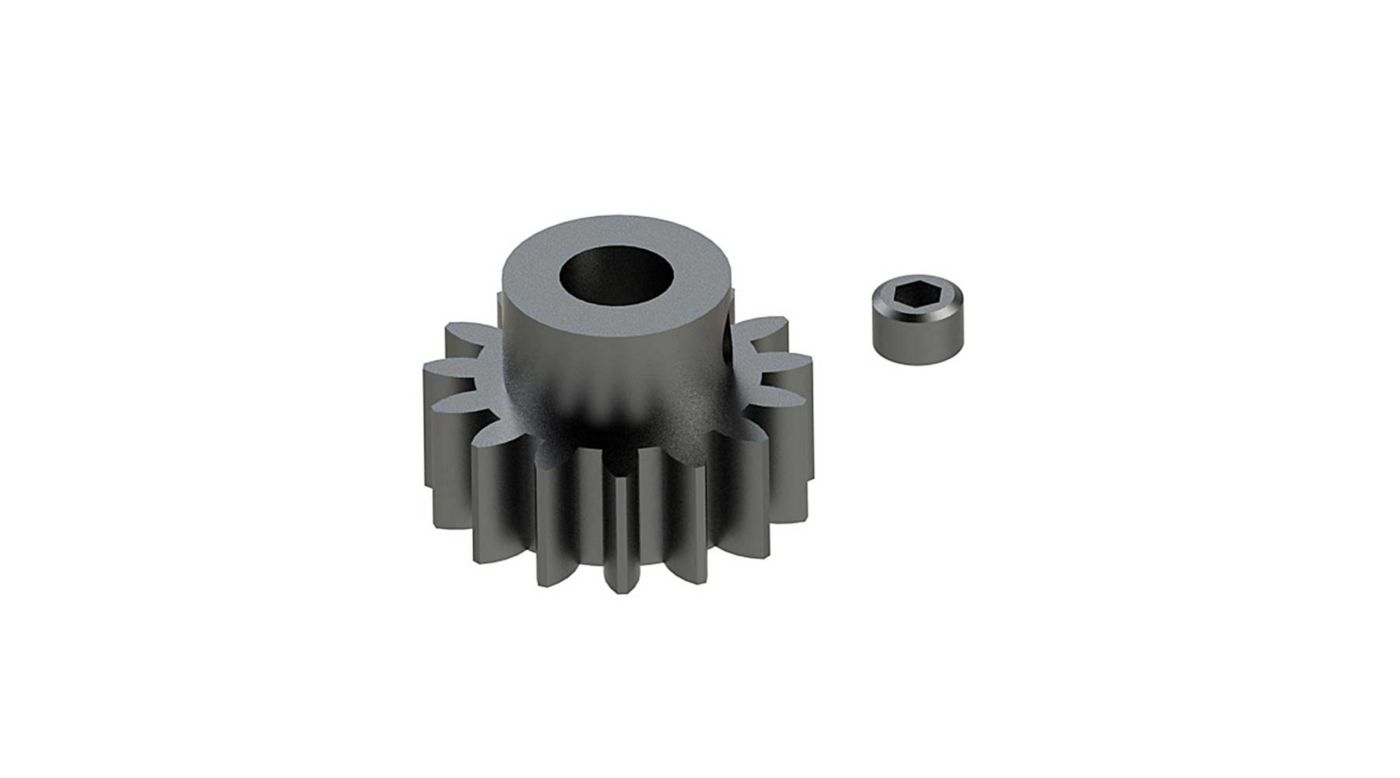 Grafik für Steel Pinion Gear 15T Mod1 5mm in Horizon Hobby