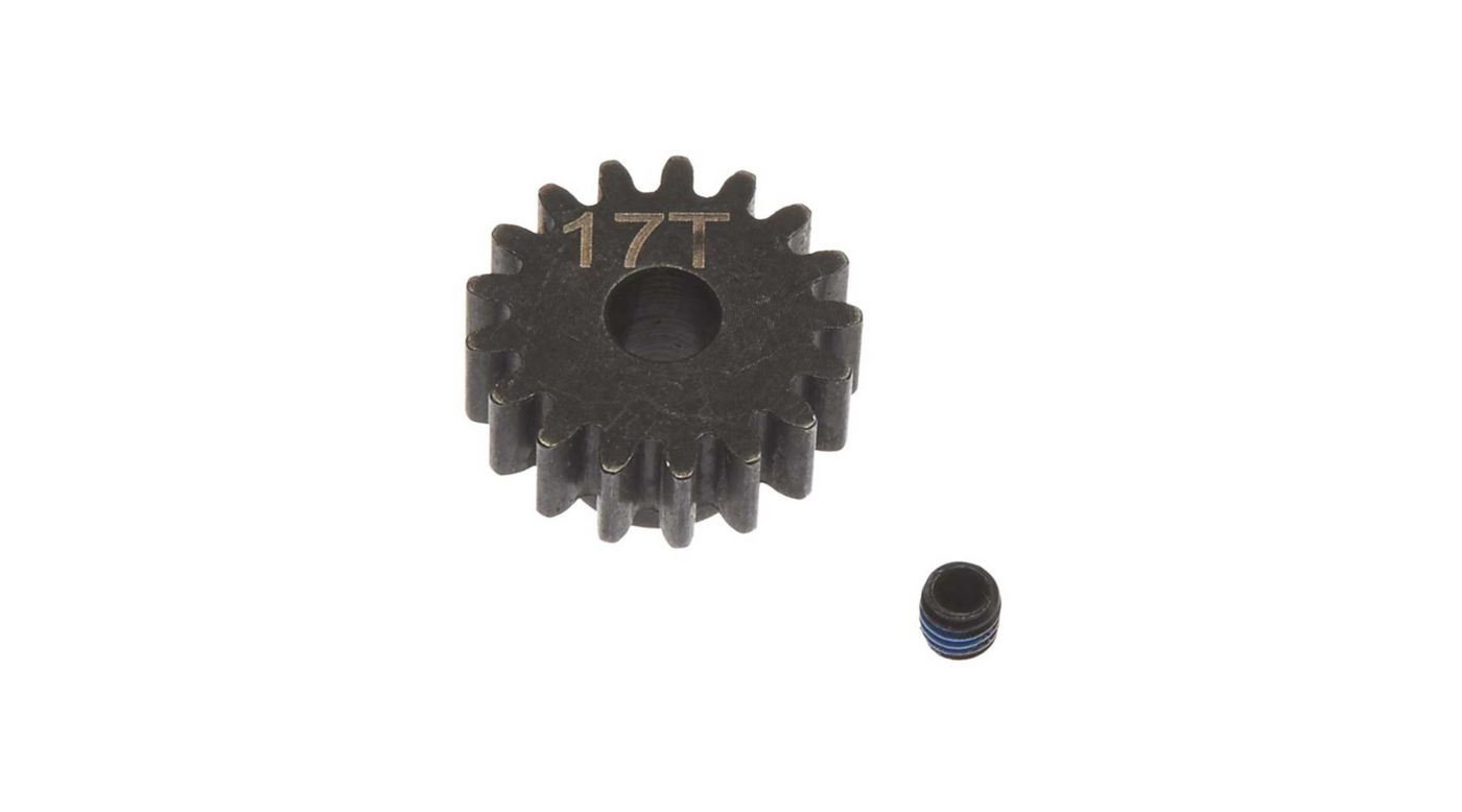 Image for Steel Pinion Gear 17T Mod1 5mm from HorizonHobby