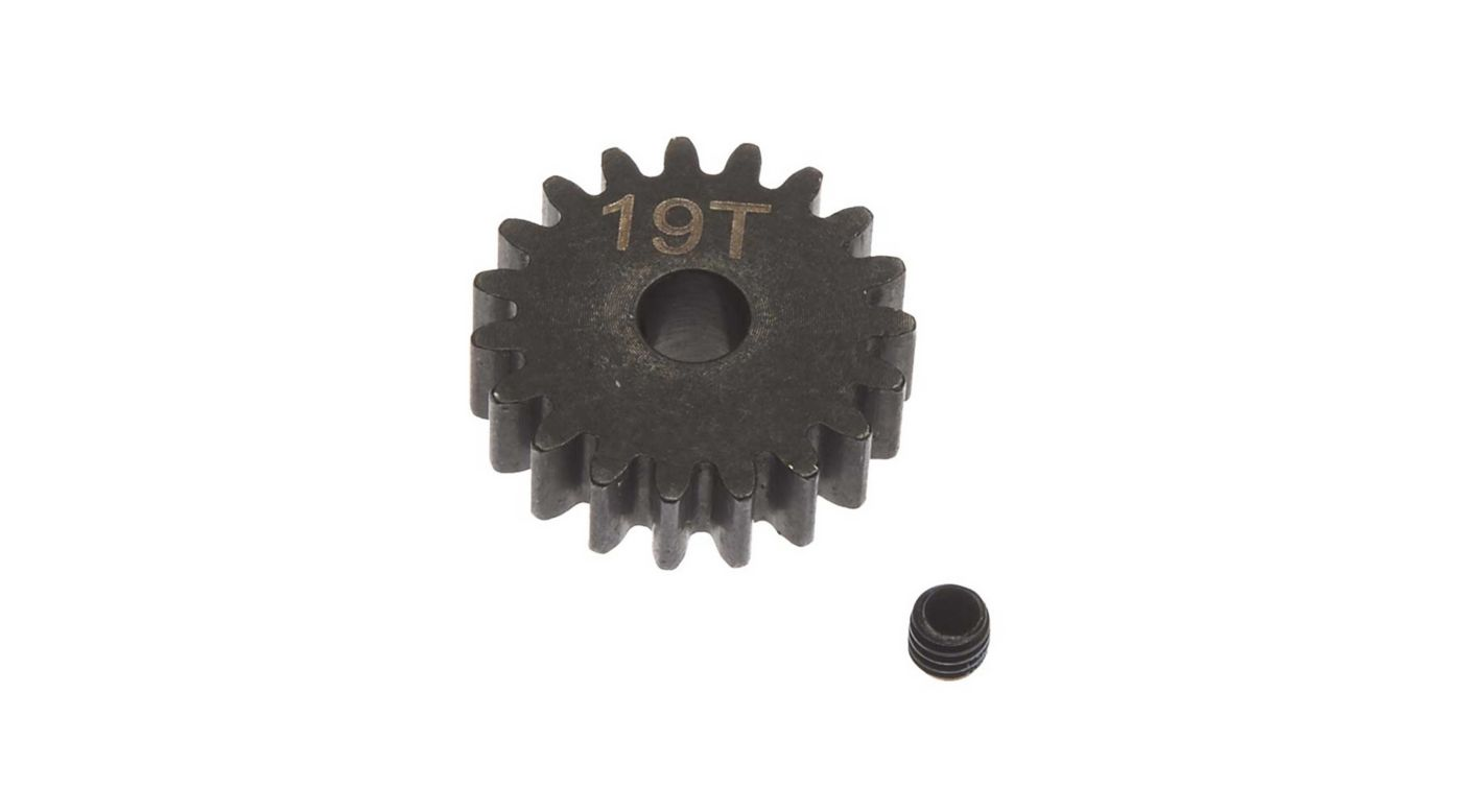 Image for Steel Pinion Gear 19T Mod1 5mm from HorizonHobby