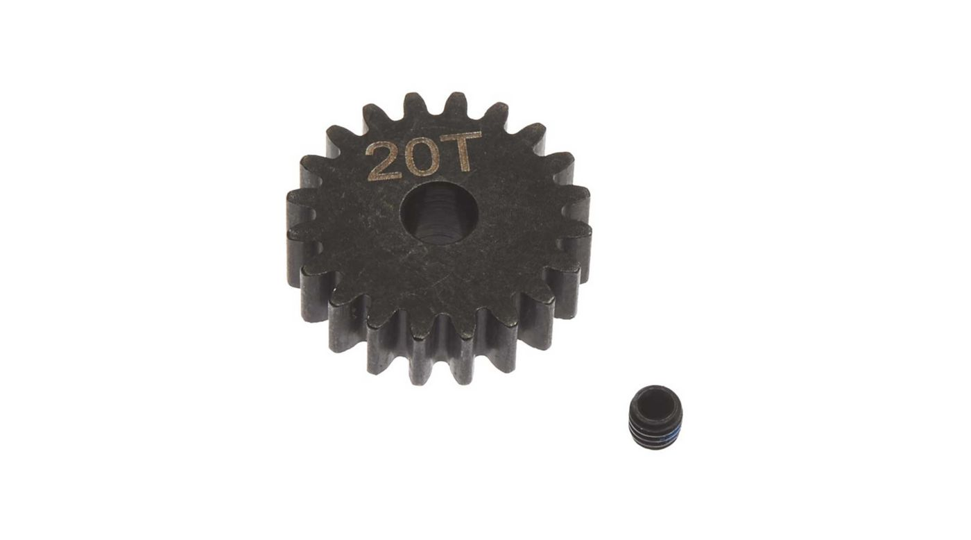 Image for Steel Pinion Gear 20T Mod1 5mm from HorizonHobby