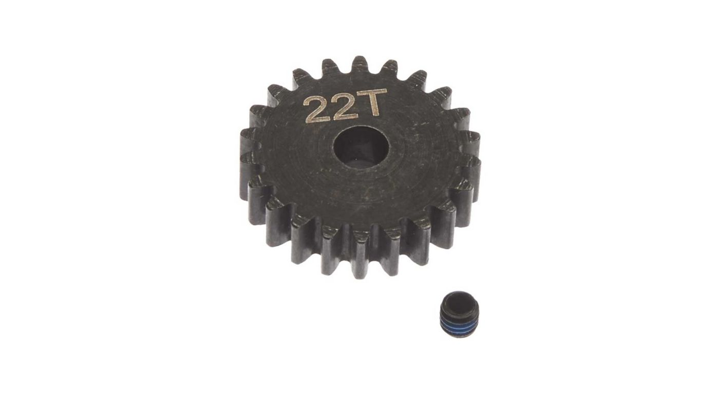 Image for Steel Pinion Gear 22T Mod1 5mm from Horizon Hobby