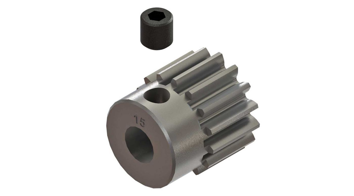 Grafik für AR310424 Pinion Gear 15T 0.8mod 4x4 in Horizon Hobby