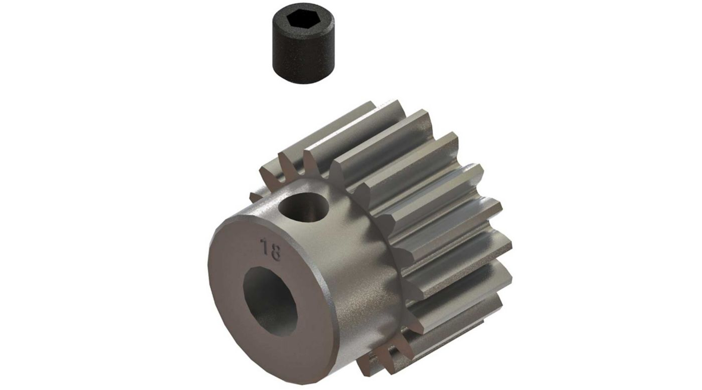 Grafik für AR310758 Pinion Gear 18T 0.8mod 4x4 in Horizon Hobby