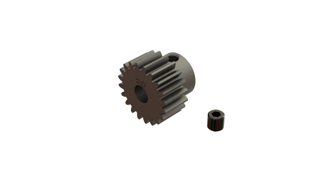 Image for Pinion Gear 20T 0.8 Mod: 4x4 BLX 3S from HorizonHobby