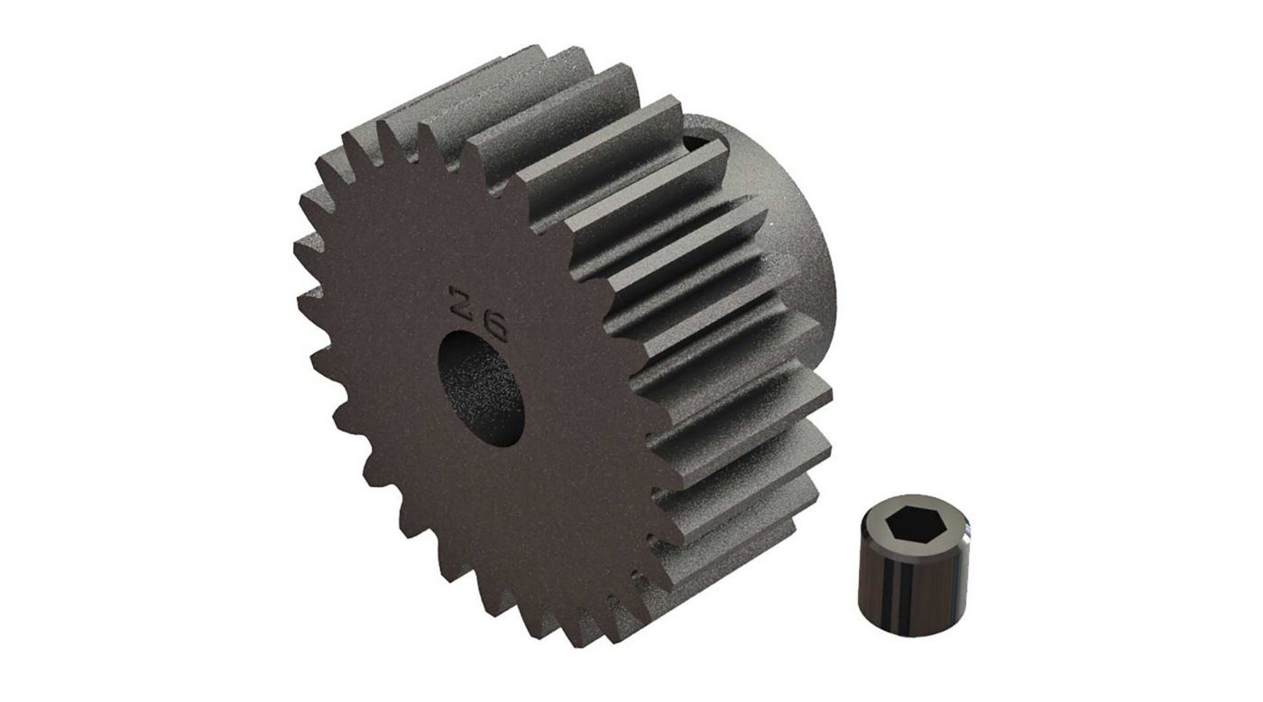 Image for Pinion Gear 26T 0.8 Mod: 4x4 BLX 3S from HorizonHobby