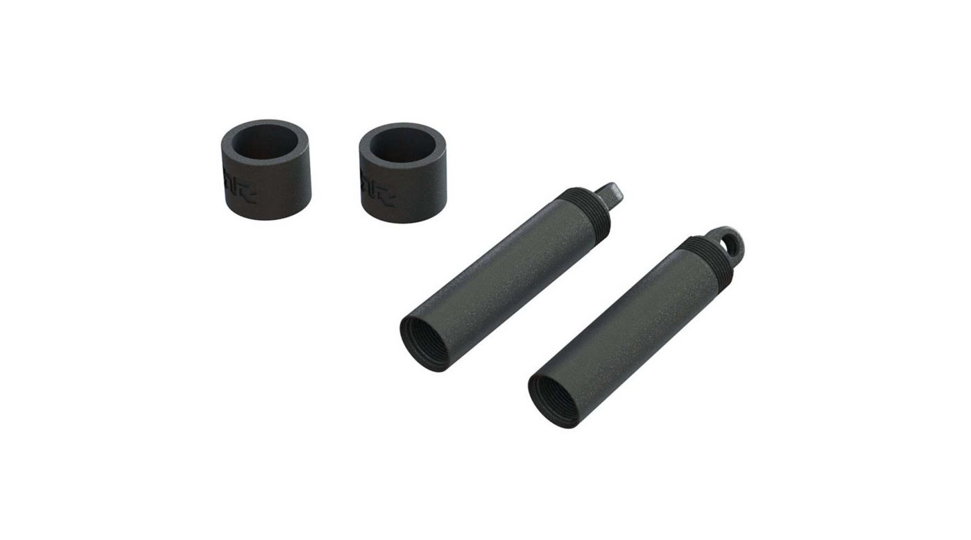 Image for Rear Shock Body Spring Spacer Set (2): 4x4 from HorizonHobby