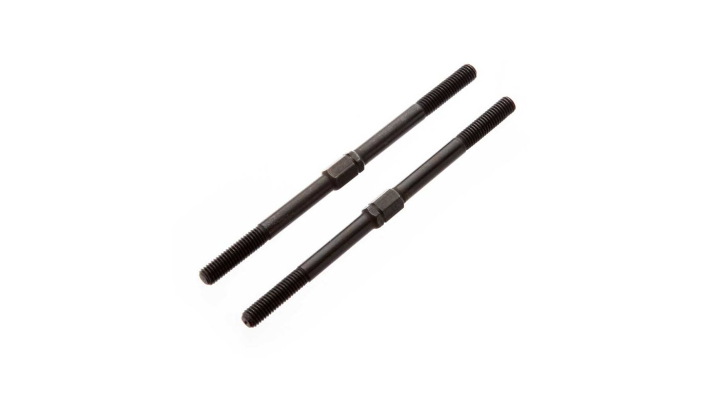 Image for Turnbuckle 5x89mm Steel Black: Kraton (2) from Horizon Hobby