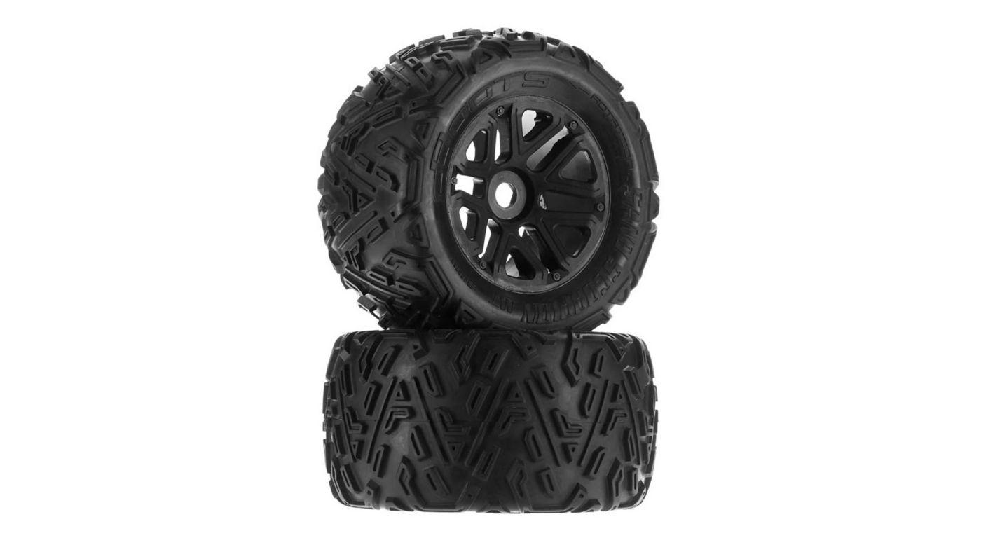 Image for Sand Scorpion MT 6S Tire Set Glued Black: (2) from HorizonHobby