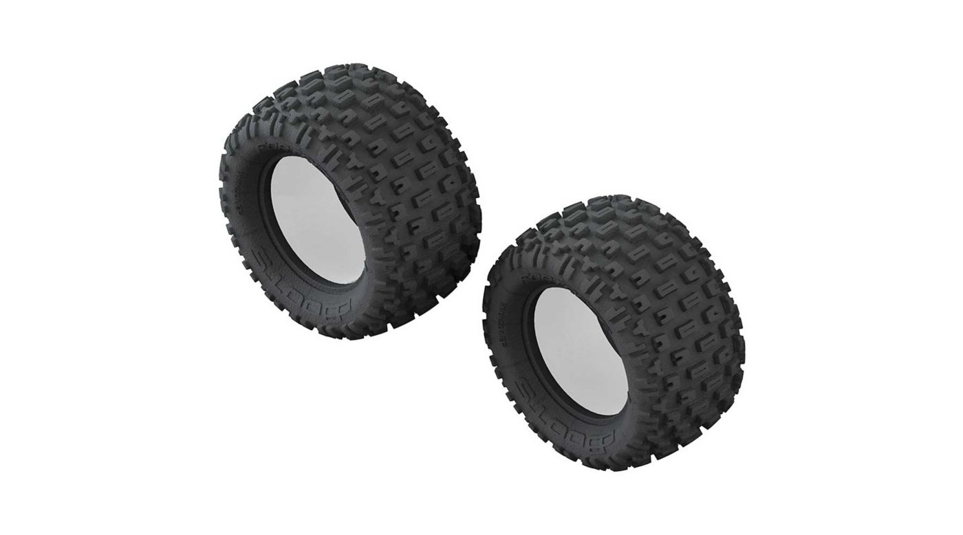 Image for 1/10 dBoots Fortress Monster Truck Front/Rear 2.8 Tire & Inserts (2) from HorizonHobby