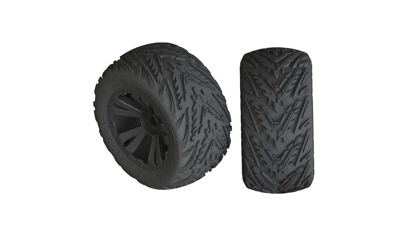 Image for dBoots Minokawa LP 4S Tire 3.8 Glued, Black (2) from HorizonHobby