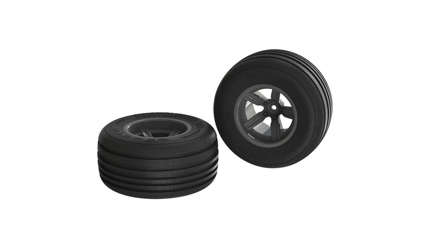 Image for 1/10 Dirt Runner ST Front 2.2/3.0 Pre-Mounted Tires, 12mm Hex, Black (2) from HorizonHobby