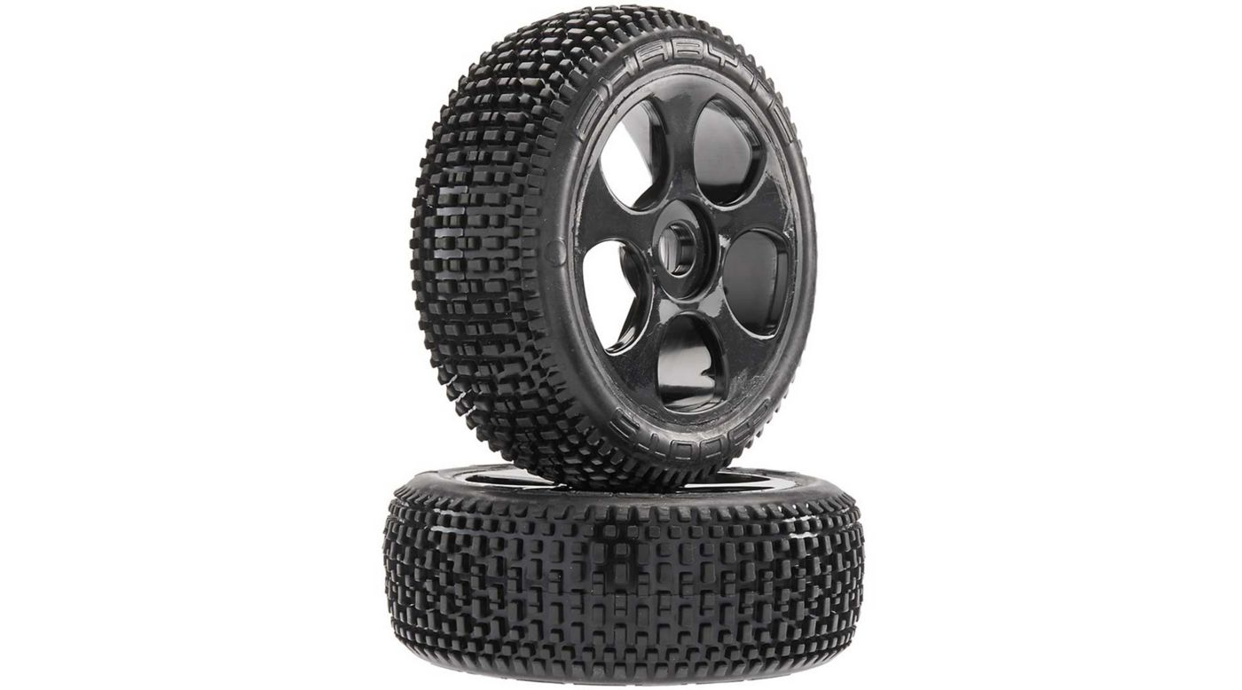 Grafik für AR550012 Exabyte BGY 6S Tire/Wheel Glued Black (2) in Horizon Hobby