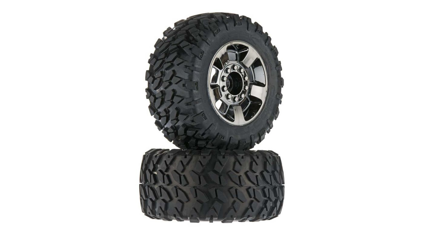 Image for 1/8 dBoots Ragnarok Front/Rear 3.8 Pre-Mounted Tires, 17mm Hex (2) from HorizonHobby
