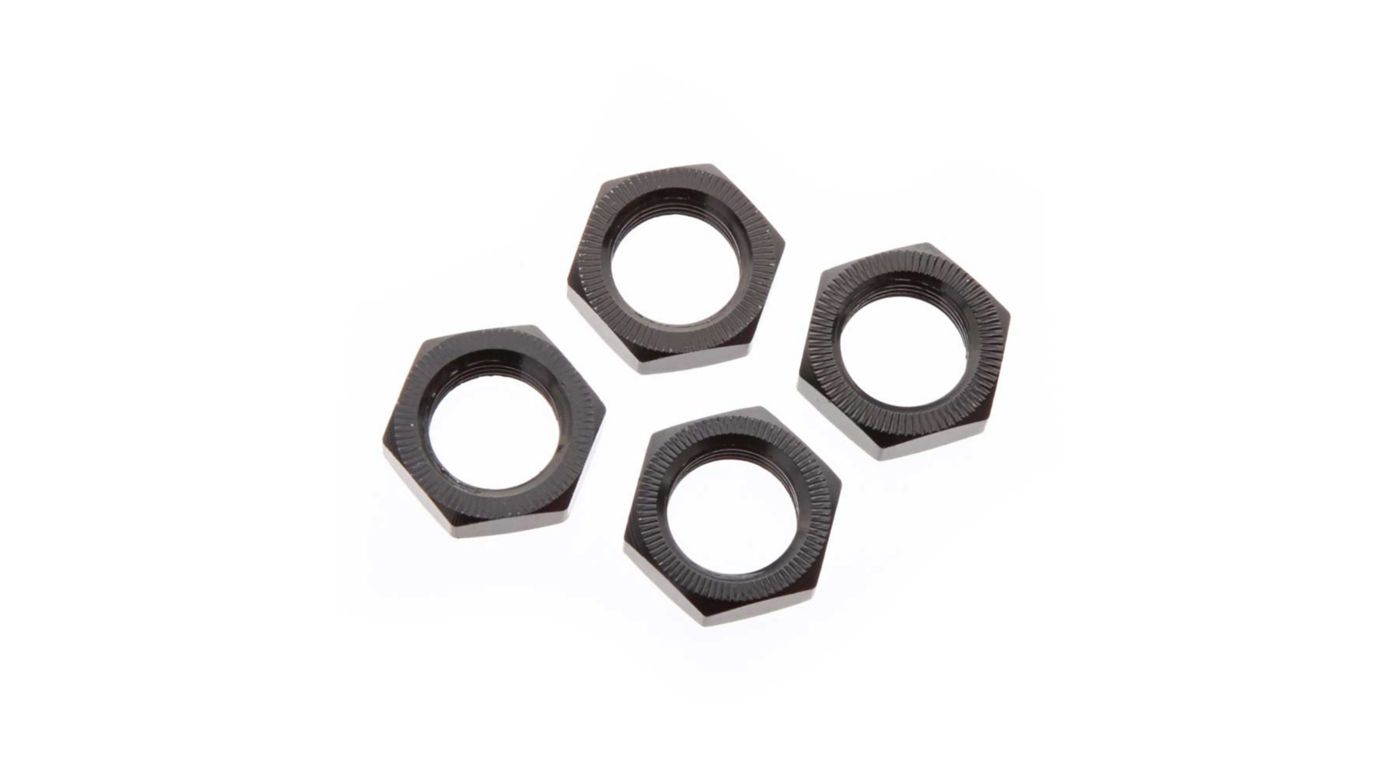 Image for Wheel Nut Aluminum 17mm Black (4) from HorizonHobby
