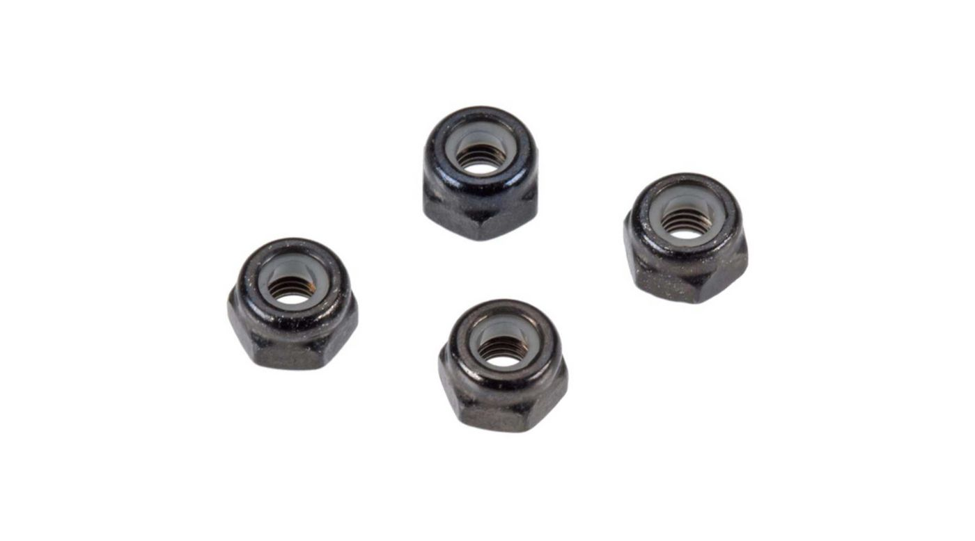 Image for Nylon Nut 3mm (4) from Horizon Hobby