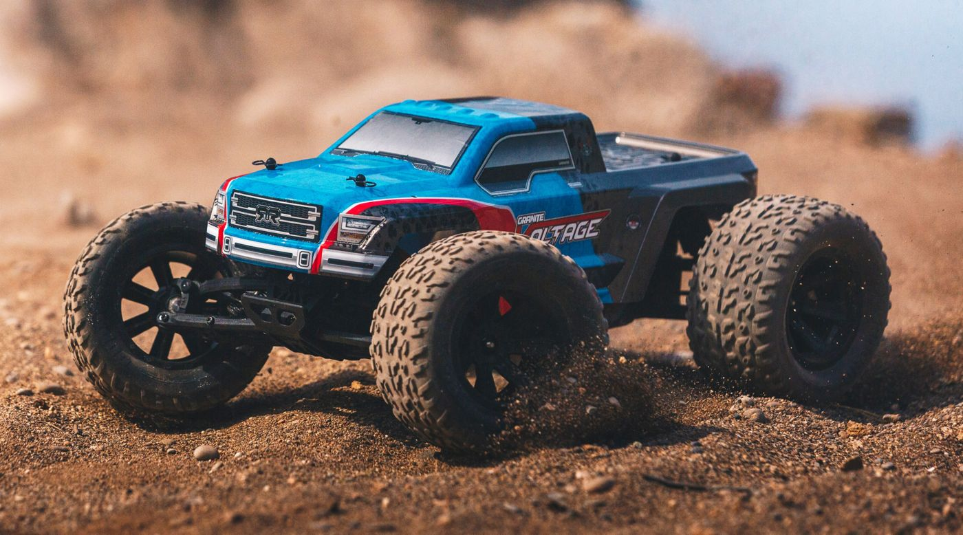 Image for 1/10 GRANITE VOLTAGE 2WD Mega Truck RTR, Blue/Black from HorizonHobby