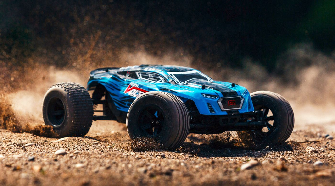 Image for 1/10 FAZON VOLTAGE 2WD Brushed Mega Truck RTR, Blue/Black from HorizonHobby