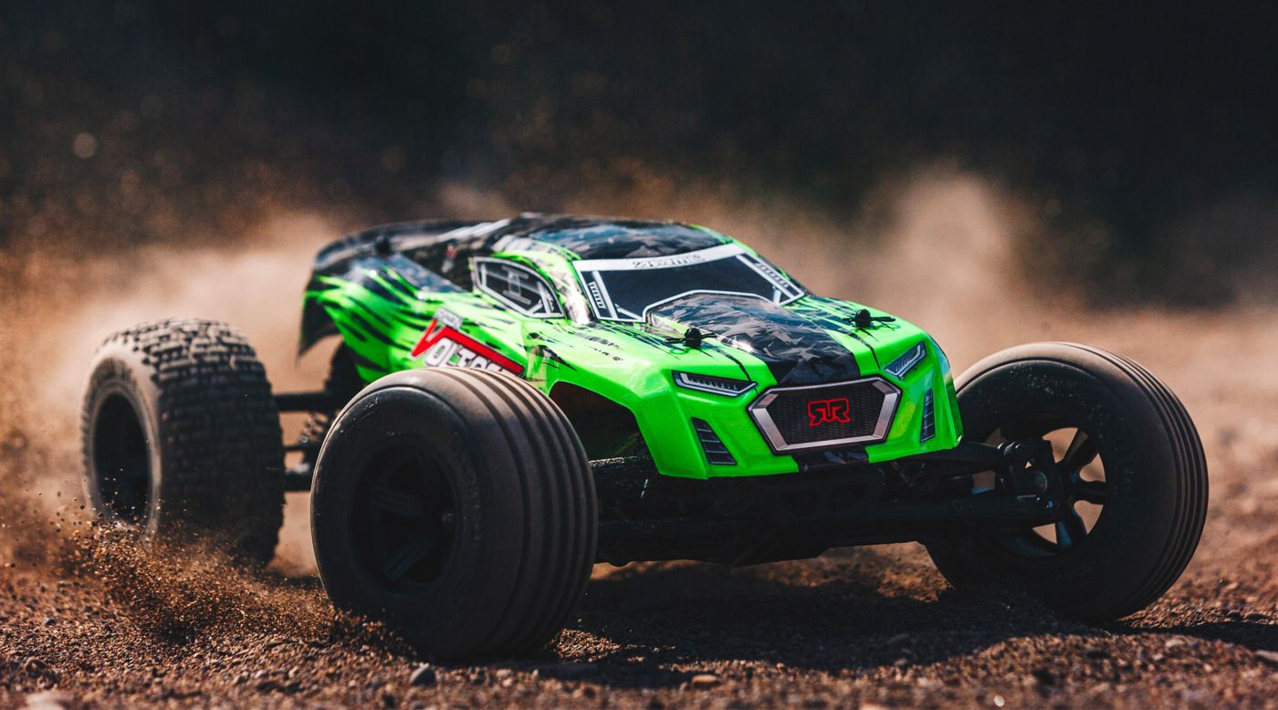Image for 1/10 FAZON VOLTAGE 2WD Brushed Mega Truck RTR, Green/Black from HorizonHobby