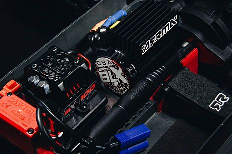 Waterproof BLX100 Brushless Power System