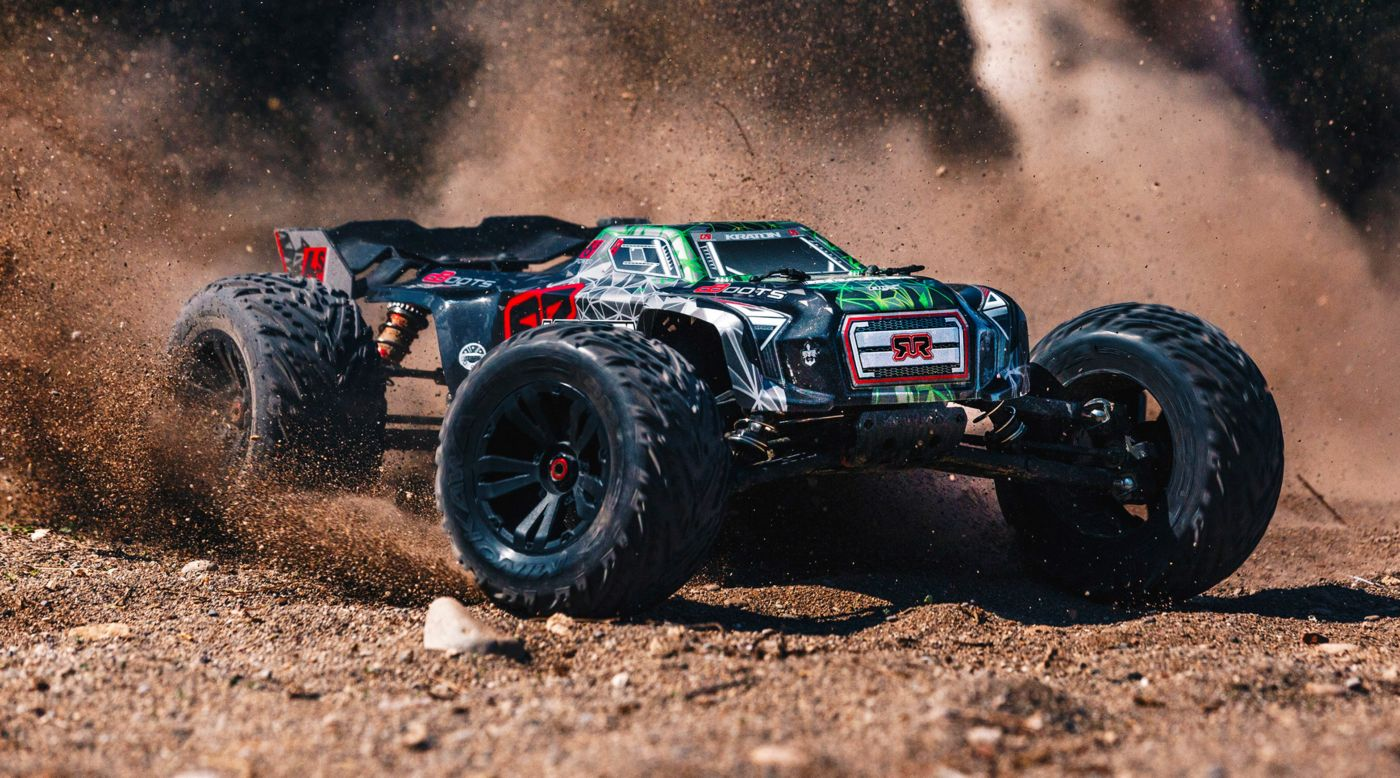 Grafik für 1/8 KRATON 6S BLX Brushless Monster Truck 4WD RTR, Black/Green in Horizon Hobby