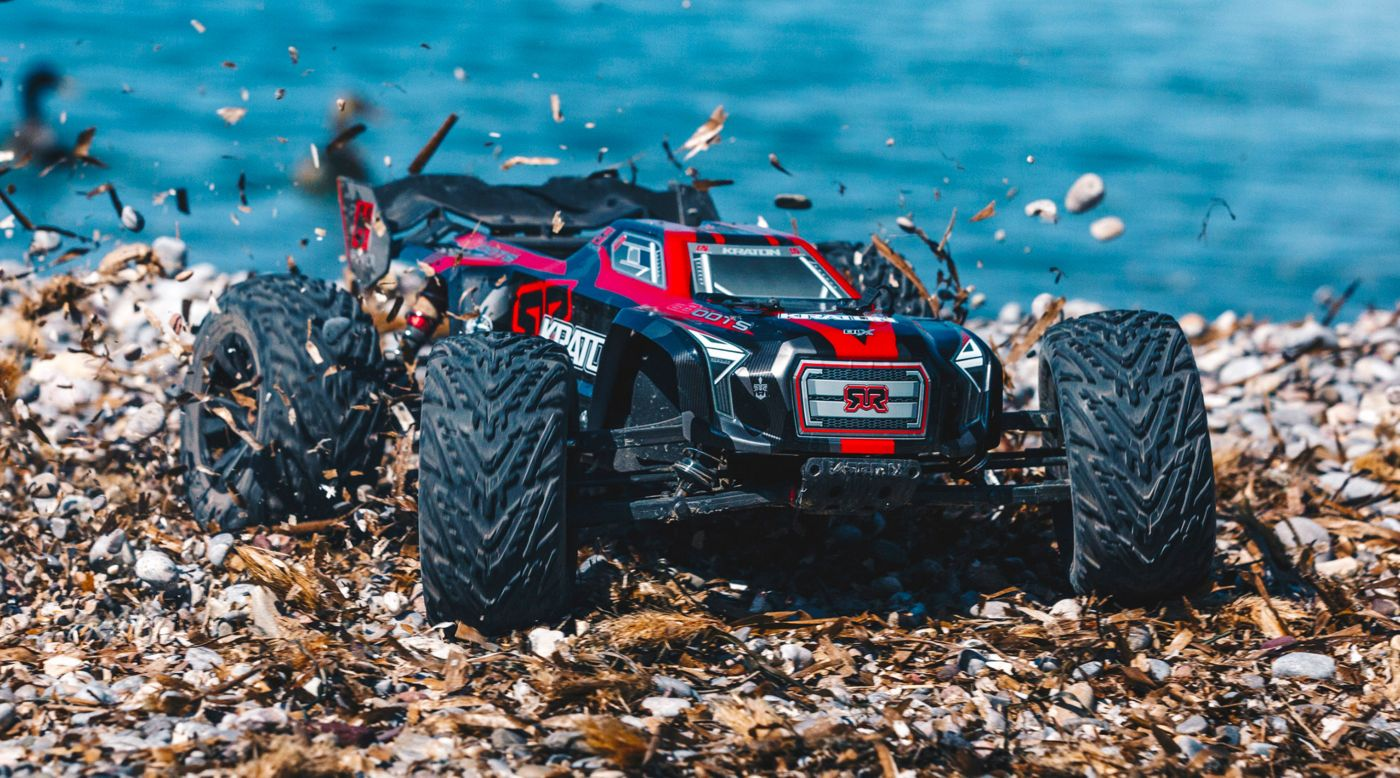 Grafik für 1/8 KRATON 6S BLX Brushless Monster Truck 4WD RTR, Black/Red in Horizon Hobby