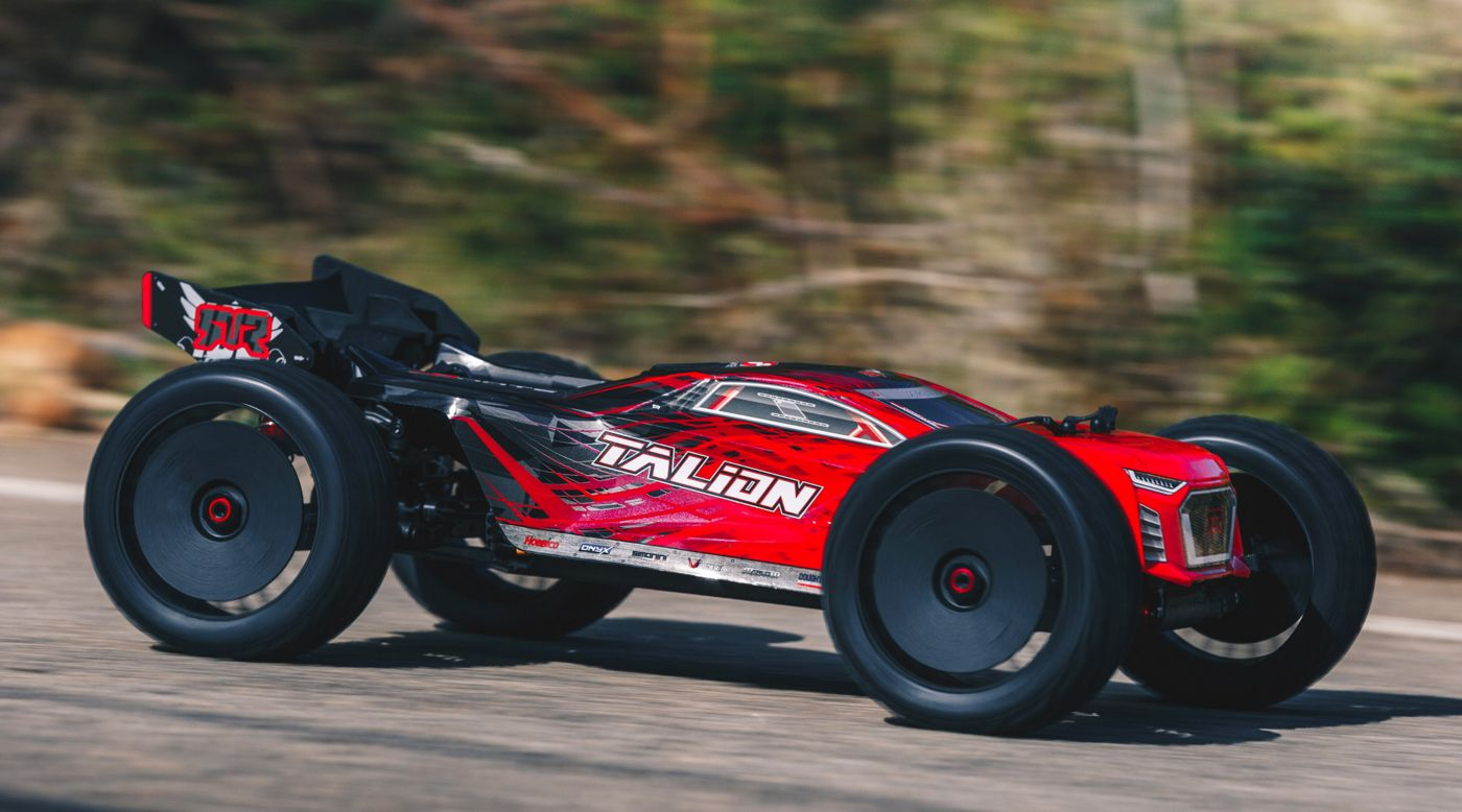 Image for 1/8 TALION 6S BLX Brushless Truggy 4WD RTR, Red Black from HorizonHobby