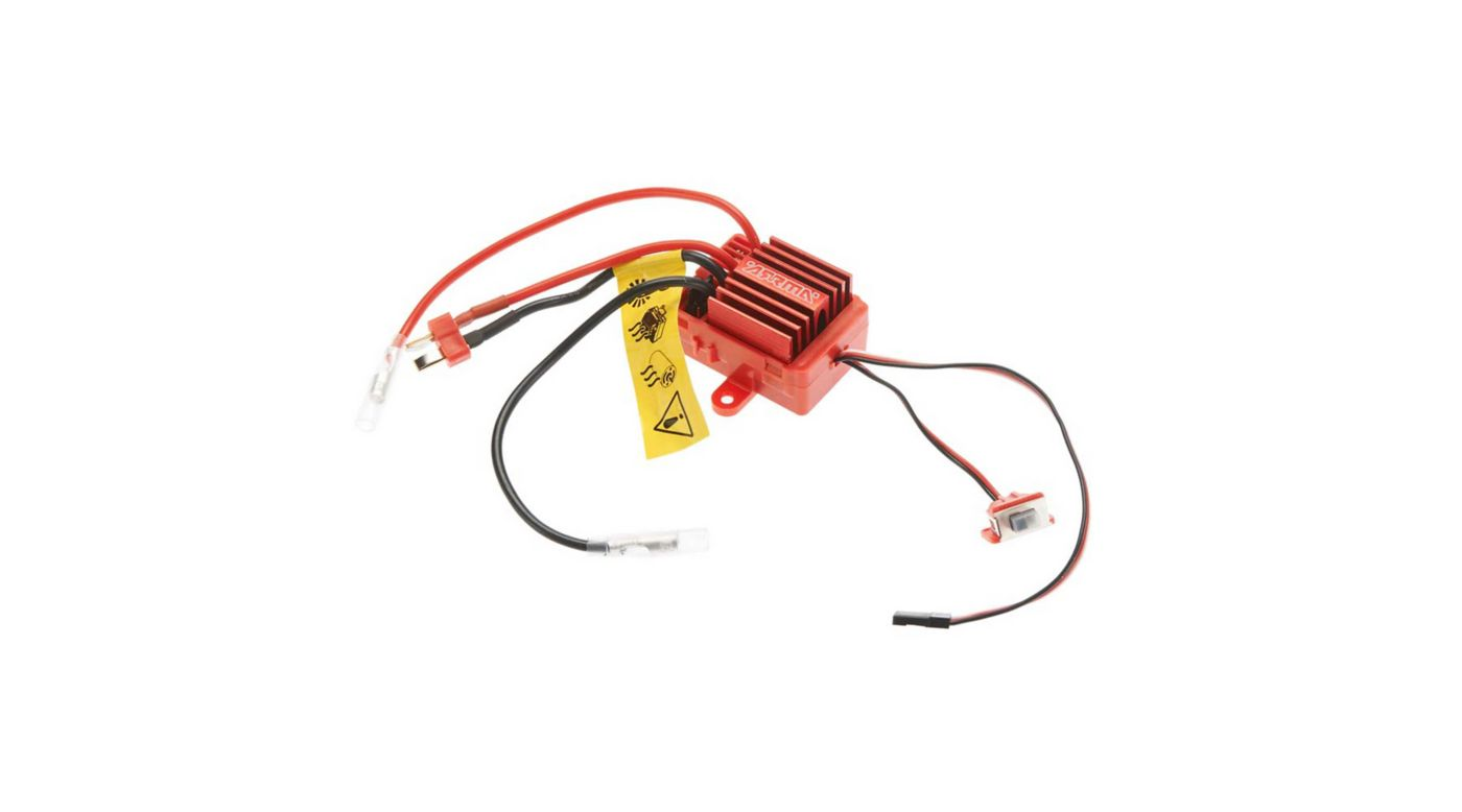 Image for Mega 12T Brushed ESC (Red) from HorizonHobby