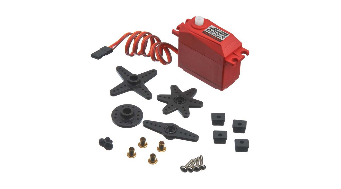 Image for ADS-5 V2 4.5kg Waterproof Servo, Red from HorizonHobby