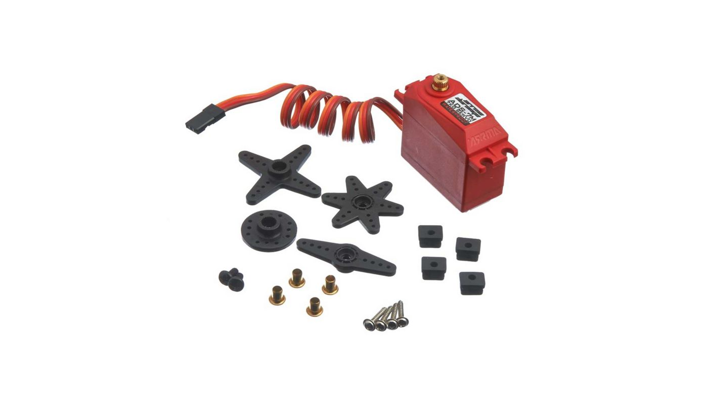 Image for ADS-7M V2 6.5kg Waterproof Servo, Red from HorizonHobby