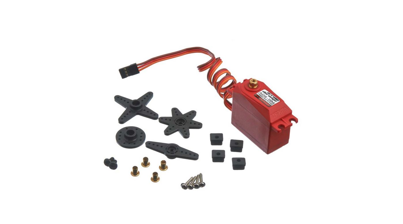 Image for ADS-15M V2 15kg Waterproof Servo, Red from HorizonHobby