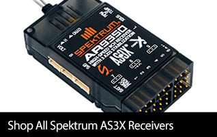 Shop Spektrum AS3X Receivers and Accessories